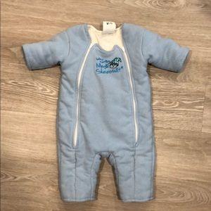 Baby marlins magic sleep suit